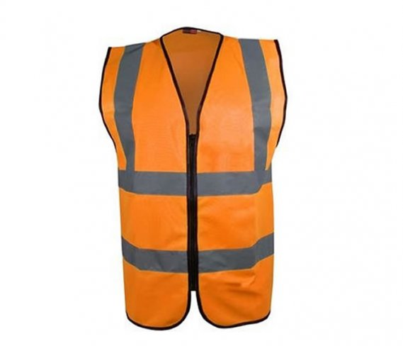'Blackrock' ZIPPED Executive Hi Vis Vest / Waistcoat