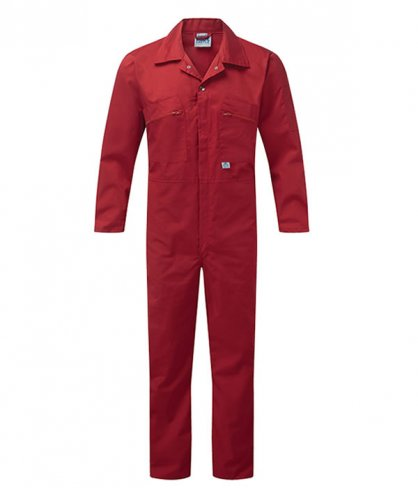 Zip Front Boilersuit