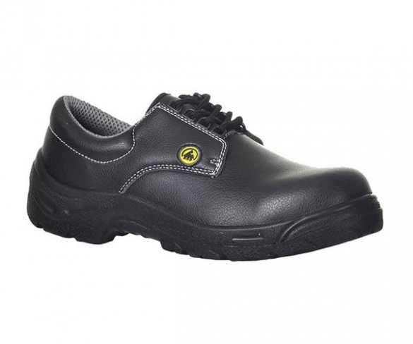 'Portwest' Non-Metallic ESD Laced Safety Shoe S2