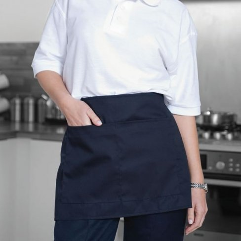 Half Apron with Pockets