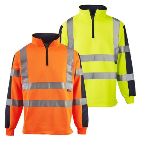 'Supertouch' Hi Vis 2 Tone Rugby Shirt