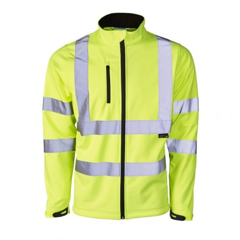 'Supertouch' Hi Vis Softshell Jacket