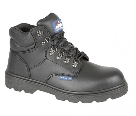 'Himalayan' Black Fully Waterproof Safety Boots