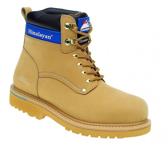 Himalayan Leather Goodyear Welted Safety Boots