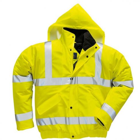 'Portwest' Sealtex Ultra Hi Vis Bomber Jacket
