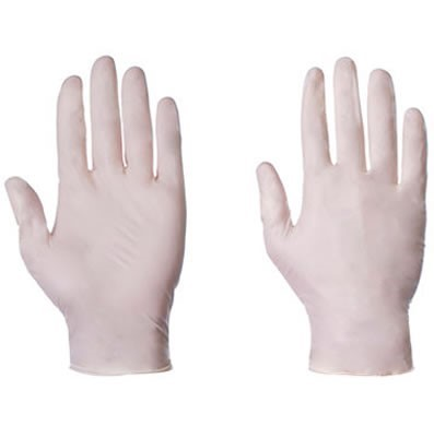 'Supertouch' Latex Disposable Powder Free Gloves (100 x 10)