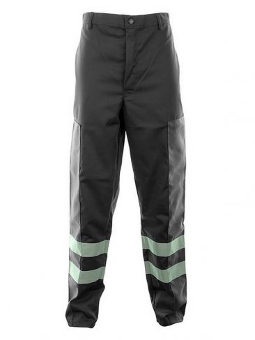 Ballistic Trousers With Hi-Vis Stripes