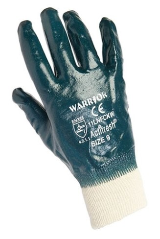 'Warrior' Lightweight Nitrile Coated Gloves x12