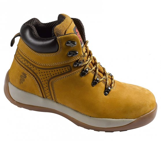 Warrior Leather Safety Hiker Boots