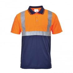 'Portwest' Two-Tone Polo Shirt
