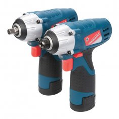 Silverstorm 10.8V Impact Wrench & Impact Driver Twin Pack