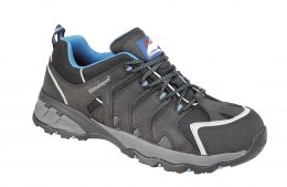 Himalayan Nubuck Black Safety Trainer - 4038