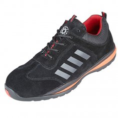 Security Line Kiwi - Black Non-Metallic Safety Shoe