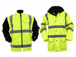 'Blackrock' Three-in-One  Hi Vis Jacket