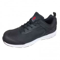 Black Mesh Safety Trainer - NEW