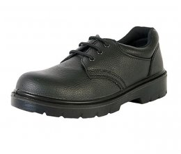 'Warrior' Black Safety Shoes