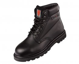 Warrior Black Welted  Leather Safety Boot