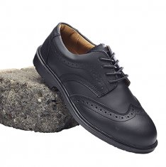 'Blackrock' Formal Brogue Safety Shoe