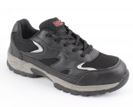 'Blackrock' Ebony Safety Trainer