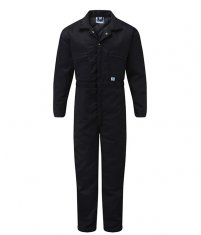 Quilted Navy Boilersuit