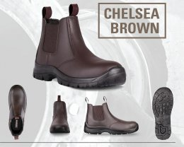 'TITAN' Chelsea Safety Boots