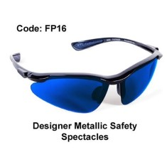 'Proforce' Designer Metallic Safety Spectacles