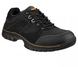 Dr Martens Black Gunaldo Safety Trainer Style Shoe
