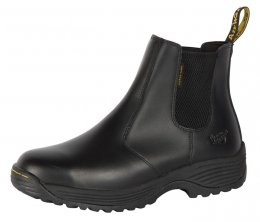 Dr Martens Black Pull-on Safety Boots