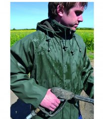 Fleece Lined Waterproof Jacket