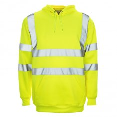'Supertouch' Hi Vis Hooded Sweatshirt
