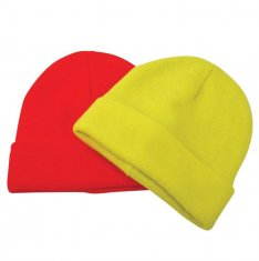 Hi Vis Thinsulate Lined Beanie Hat