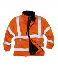 Standsafe Hi-Vis Zipped Fleece Jacket