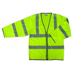 Step Ahead Hi Vis Zipped Sleeved Vest