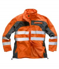 Standsafe Hi-Vis Two-Tone SoftShell Jacket