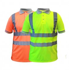 Step Ahead Hi Vis Polo Shirt