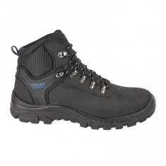 Himalayan Black Hiker Style Leather Safety Boots