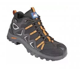 Himalayan Black Gravity TRXII Waterproof Poron XRD Hiker Safety Boots