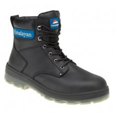 Himalayan Black Leather Boot - 5015