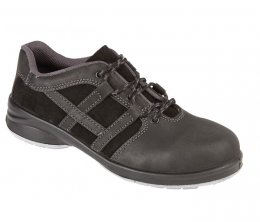 'Himalayan' Ladies Black Star Lace Trainer