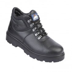 Himalayan Black Leather Safety Boots