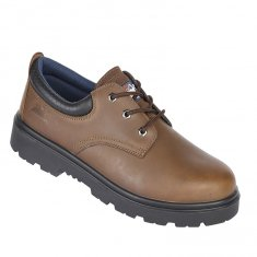 Himalayan Leather 3 Eyelet Safety Shoe