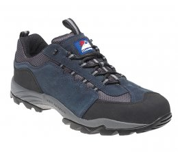 Himalayan Navy Suede Safety Trainer - 4021