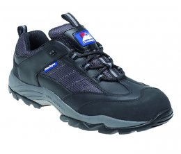 Himalayan Leather/Suede - Nylon Metal Free Safety Trainers