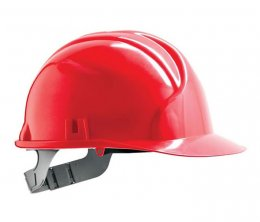 'JSP' Mk2 Standard Safety Helmet with 6-Point Terylene Harness