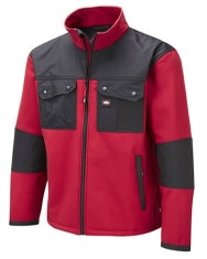 Lee Cooper Red Softshell Lined Jacket