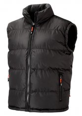 'Lee Cooper' Padded Sleeveless Reversible Jacket