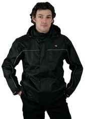 'Lee Cooper' Black Waterproof Jacket