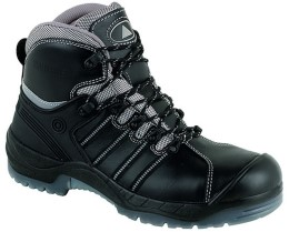 'Panoply' Leather Waterproof Metal Free Toe Cap Boot