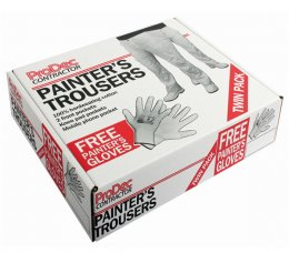 'ProDec' Painters Trousers - Twin Pack