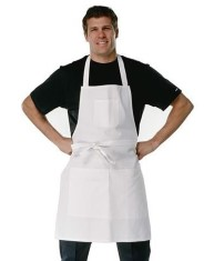 White Painters Apron